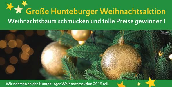 Große Hunteburger Weihnachtsaktion